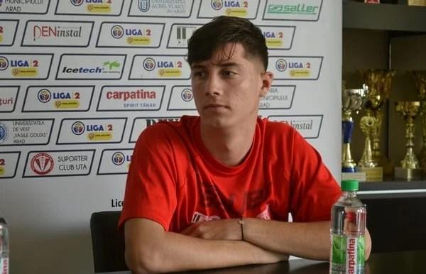 """Miculescu are ambiții mari pentru la anul în tricoul UTA-ei: """"Să terminăm pe podium!"""""""