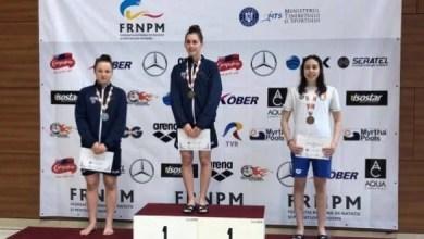 Photo of Andreea Popescu, medaliată la Internaţionalele de înot ale României