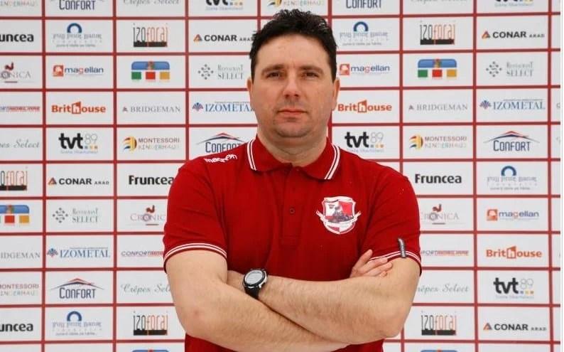 Timișoreanul Bugar face tandem cu Gigi Cameniță pe banca tehnică a nou promovatei, Piroș Security