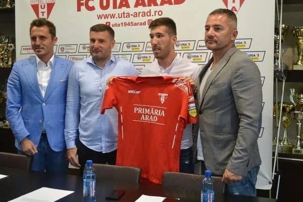 """UTA a câștigat bătălia cu Poli Iași și FC Botoșani pentru Buhăcianu: """"Am venit să ajut, rămâne de văzut câte goluri voi marca"""""""