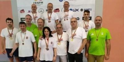"""Sportivii CSM-ului, în top la """"naţionalele"""" de înot master"""