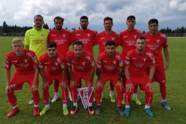 80 de minute consistente pentru încă un succes în amicale: UTA – SC Budaörsi  2-0
