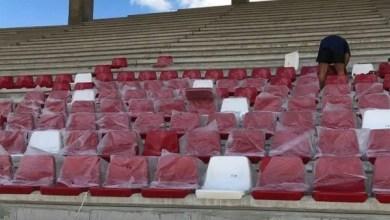 """Photo of Au """"răsărit"""" primele scaune pe arena """"Francisc Neuman"""", acestea vor fi prinse direct în beton"""