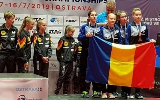 Adela Strună, bronz european cu naţionala de cadete