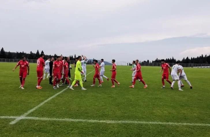 S-a pus doar problema scorului în fața slovenilor de Liga 3-a: UTA - ND Dravinja  7-0