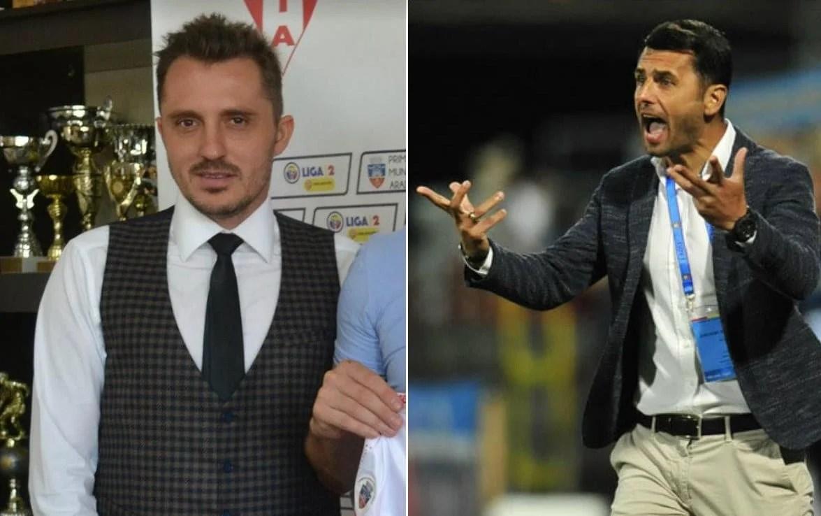 """Apostu își asumă din nou afinitatea pentru culorile """"roș-albe"""": """"L-am sfătuit pe Ioniță să aleagă UTA și nu FC Argeș, nu accept să-mi facă Dică program!"""""""