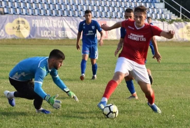 Moral recâștiat înainte de meciul de Cupă: Crișul Chișineu-Criș - CS Ghiroda și Giarmata Vii 2-1