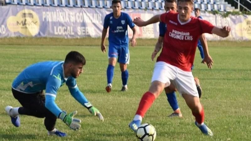 Moral recâștiat înainte de meciul de Cupă: Crișul Chișineu-Criș – CS Ghiroda și Giarmata Vii 2-1
