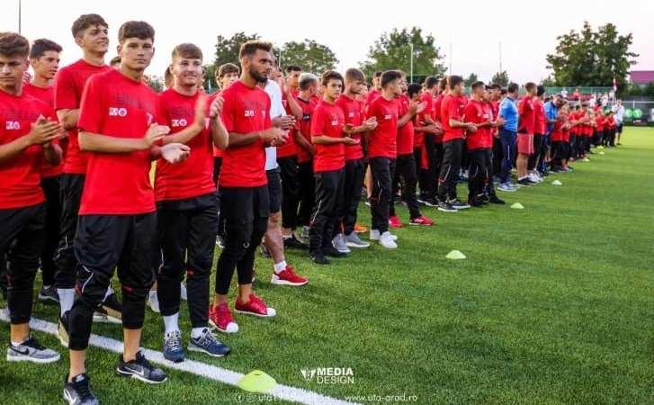 Echipele UTA-ei vor debuta în Liga Elitelor pe teren propriu, cu Csikszereda! Derby-urile cu Poli se joacă înainte de vacanță, tot la Arad