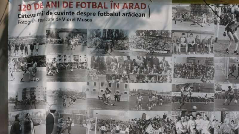 """Expoziția foto realizată pentru """"120 de ani de fotbal în România"""" ajunge pe Arena Națională, la meciul """"tricolorilor"""" cu Spania"""