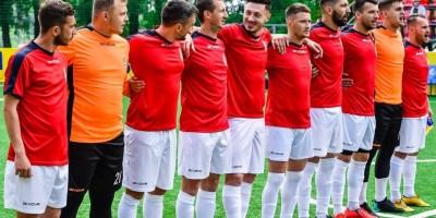 Naționala de minifotbal face ultimele repetiții pentru EMF Nations Games la baza Desavoia din Arad