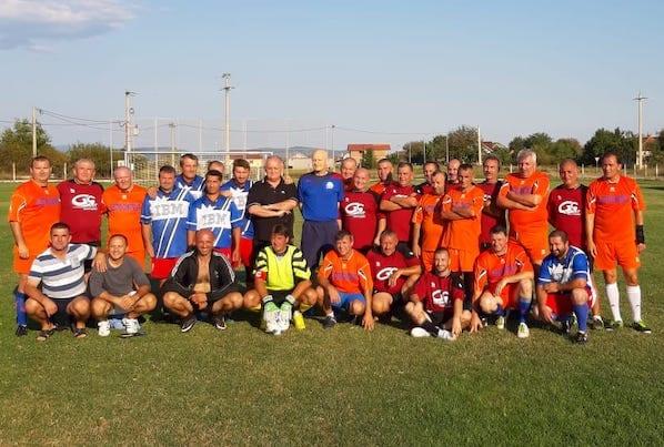 Olari și Ceala vor juca în fața conducerii FRF pentru trofeu la prima ediție a Campionatului Județean de Old-Boys