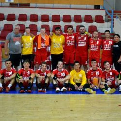 Handbalul masculin arădean a renăscut și la nivel de seniori, tracul debutului a fost mare: HC Beldiman - Unirea Sânnicolau Mare 27-29
