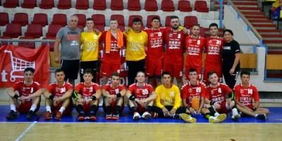 Handbalul masculin arădean a renăscut și la nivel de seniori, tracul debutului a fost mare: HC Beldiman – Unirea Sânnicolau Mare 27-29