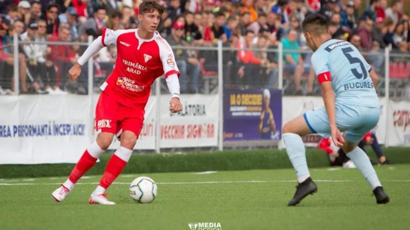 """UTA are cel mai bun atac din Liga 2, dar Miculescu încă nu se află printre marcatori: """"Apare mult la finalizare, să sperăm că va marca la Belgrad"""""""