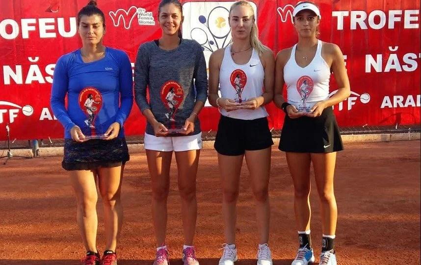 """Andreea Mitu poate realiza """"dubla"""" la ITF Arad, sub privirile marelui Ilie Năstase!"""