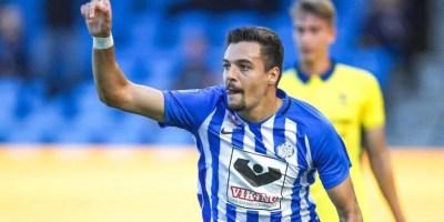 """Petre a întrerupt """"seceta"""" lui Esbjerg: Atacantul arădean a ajuns la trei reușite stagionale + VIDEO"""