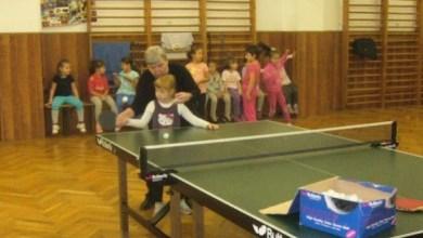 Photo of Selecţie pentru copii, la secţia de tenis de masă a CSM-ului