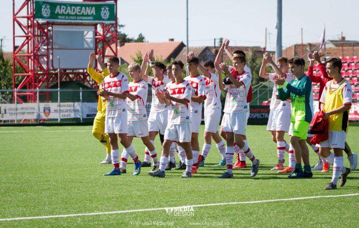 Liga Elitelor U16: Academia UTA a terminat turul cu punctaj maxim, Viitorul - încă un eșec în deplasare