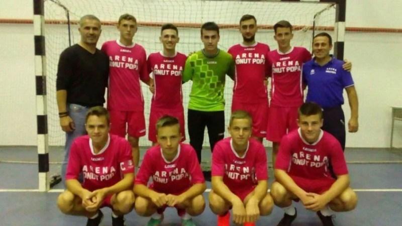 CN de futsal U19: Șimandul a făcut spectacol cu CFF Clujana și se pregătește de vizita liderului