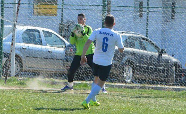 Șiria a ieșit de pe teren la Pilu și cere rejucarea meciului pentru că portarul ei a fost luat cu Ambulanța, după faza golul doi al gazdelor!