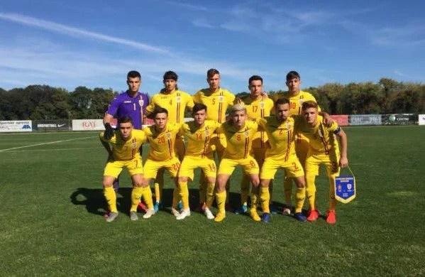 România U 19, cu Miculescu și Isac titulari, au pierdut cu Spania și și-au redus simțior șansele de calificare în Turul de Elită!