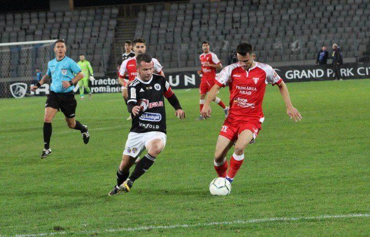 Live-text Liga a II-a, ora 17,45: U. Cluj - UTA 1-1, final