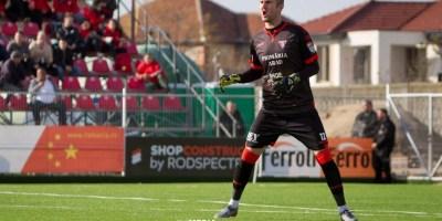 """Bolboașă a debutat în Liga 2-a pentru UTA fără gol încasat și cu pasă decisivă: """"Am avut ceva emoții, deși tot ce vine din fotbal este un bonus pentru mine"""""""