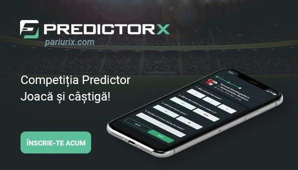 Predictor by PariuriX: Concurs gratuit de pronosticuri pe fotbal cu câștiguri săptămânale
