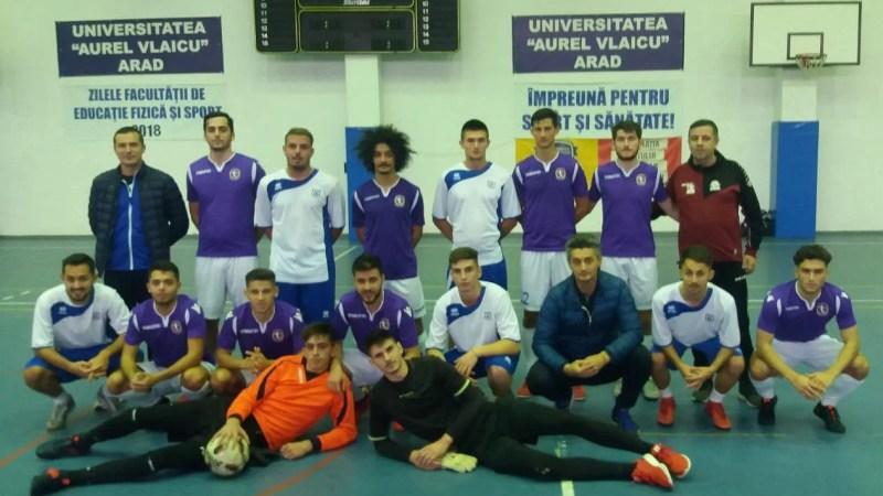 Studenți vs. cadre didactice la prima ediție a Cupei Universitas!