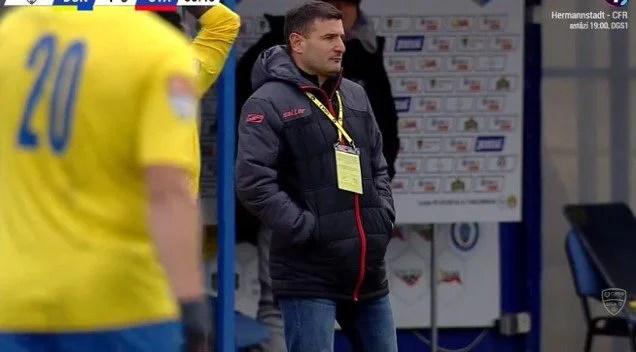 """Balint recunoaște că echipa sa a fost neinspirată în atac, la Călărași și punctează: """"Să fim cu toții mai responsabili și, atenție, suntem departe de a fi promovați!"""""""