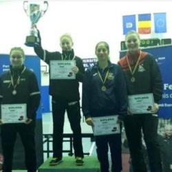 Fetele CSM-ului au dominat Cupa României la tenis de masă!
