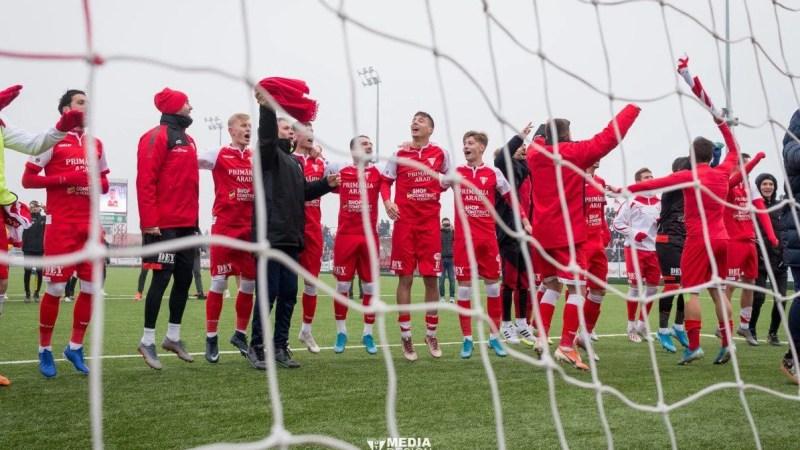 """Cifrele UTA-ei și ale fotbaliștilor săi după primele 21 de etape ale ligii secunde: Cel mai bun atac și cele mai multe """"assisturi"""", al doilea procent în dreptul posesiei!"""