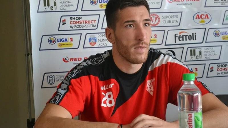 """Buhăcianu promite puncte cu Ripensia, iar: """"Dacă și înscriu cu atât mai bine"""""""