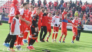 """Photo of Galerie FOTO: Utiștii în sărbătoare pentru un nou succes în Liga 2-a, fanii s-au implicat în campania """"Aducem Corvinul acasă"""""""