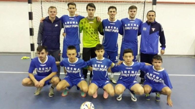 Șimandul s-a impus și la Băleasa și are maxim de puncte în Liga Elitelor U19 la futsal