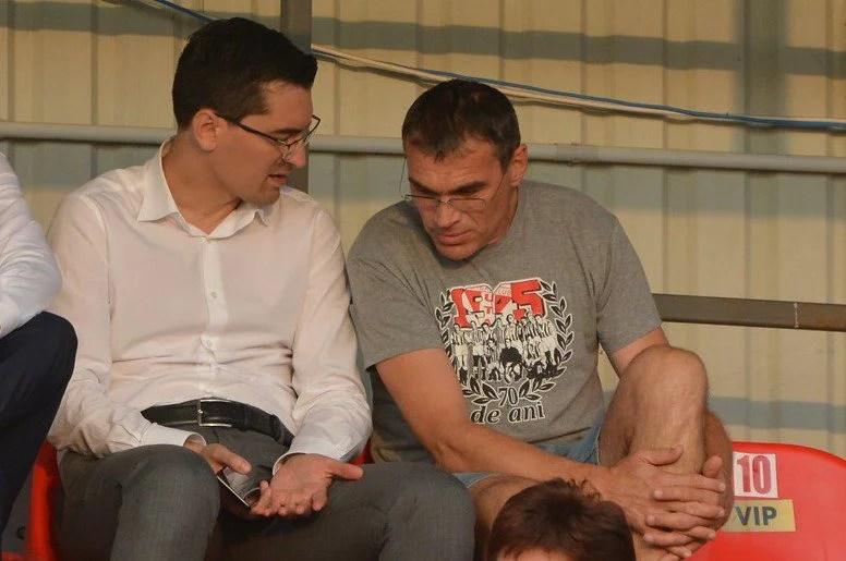 Burleanu vine la Arad pentru România – Serbia, dar și pentru a lua pulsul UTA-ei și a restului echipelor afiliate