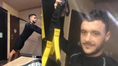 """Photo of Lipovanii se """"luptă"""" cu TRX-ul în izolare: """"Conducerea ne-a dovedit încă odată că ne respectă munca, datoria noastră este să fim la un nivel bun când se va juca din nou"""""""