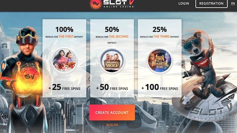 SlotV – o ușoară plimbare prin lumea jocurilor
