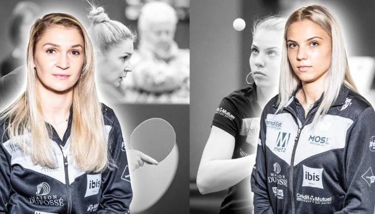 Arădeanca Dodean şi Adina Diaconu vor fi colege, la Metz TT, pentru încă un sezon