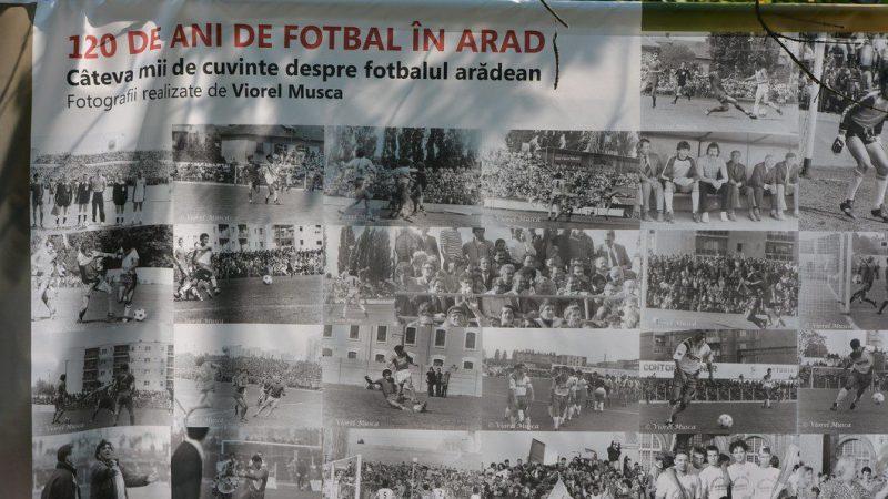 """Arad – 120 de ani de fotbal în România"" va fi nominalizat la UEFA Grassroots Awards!"