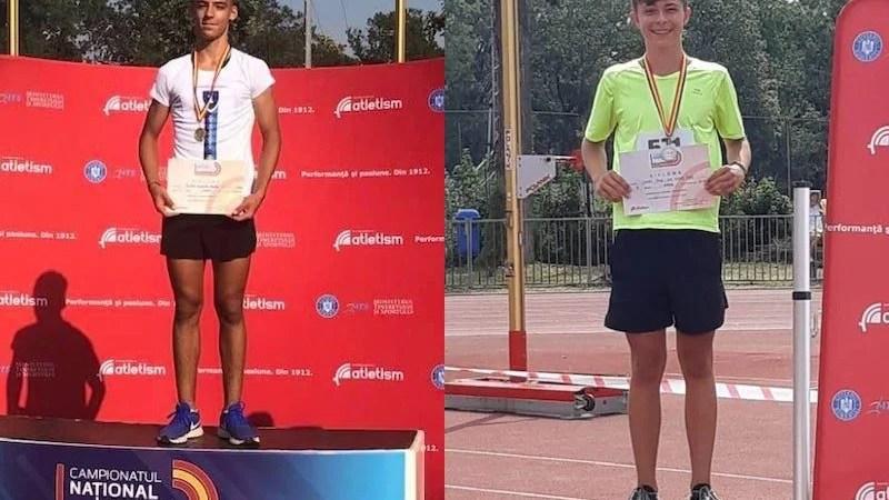 CN de atletism de copii: Arădeanul Matus e noul campion național la săritura în lungime, medalii de argint pentru Lauric!