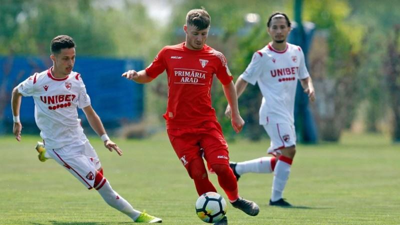 Semifinala Ligii Elitelor U 19: UTA – Dinamo 5-6, final