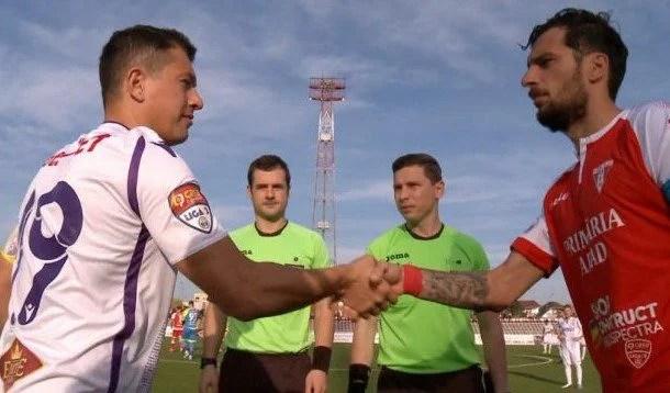 Remember 2007 cu Balint, Apostu și Melinte (debutant în Liga 1) pe teren pentru UTA, împotriva lui Badea și Prepeliță, la FC Argeș!