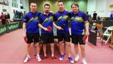 Photo of Băieţii CSM-ului au prins podiumul seriei, în liga secundă de tenis de masă