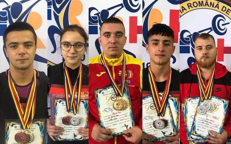 Halterofilii domină TOP 10 al clubului AMEFA Arad în anul 2020