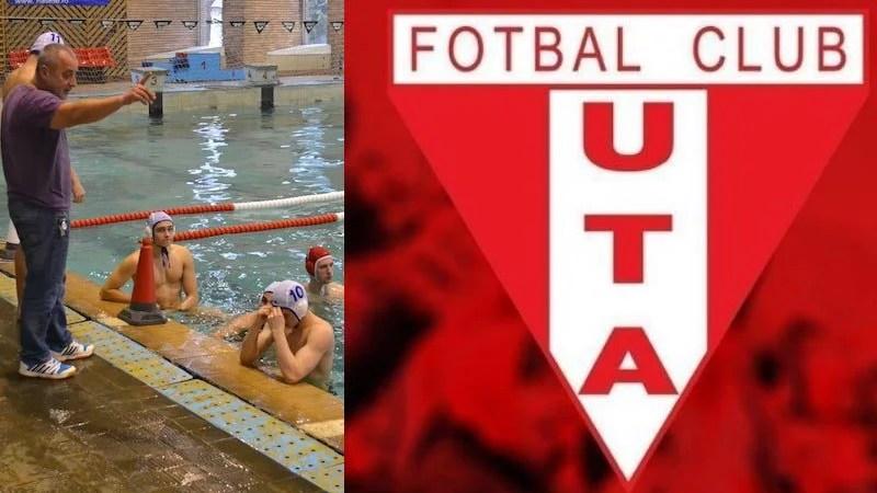 """Clubul UTA sare în ajutorul poloiștilor: """"Ca punct de reper al sportului arădean, nu puteam fi indiferenți la dificultățile unei grupări de tradiția AMEFA-ei"""""""