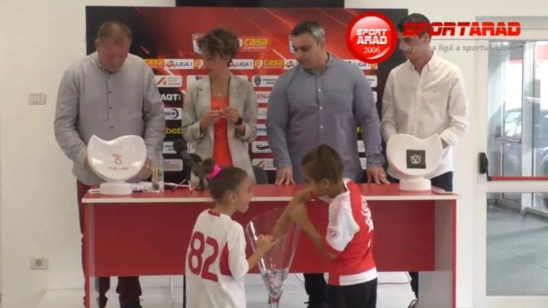 Concursul sportarad.ro și-a desemnat câștigătorii concursului aniversar, UTA 75: Află dacă ești pe lista premiaților!