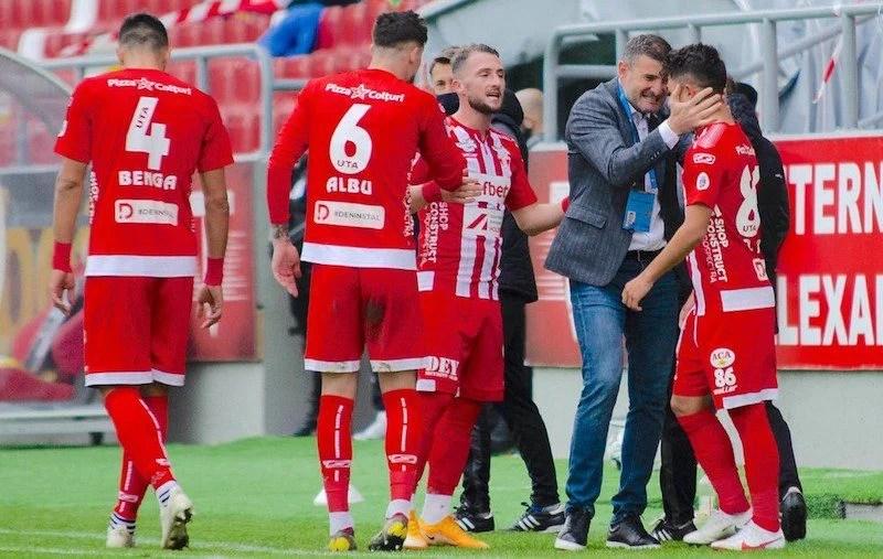 """Denis Rusu a spart gheața în Liga 1: """"Nu m-am demoralizat după ratarea din prima repriză, sunt bucuros pentru gol și victorie!"""""""