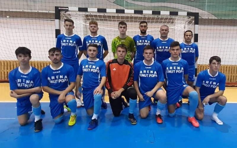 Șimandul atacă cu 9 jucători turneul cu numărul trei al Ligii a II-a la futsal